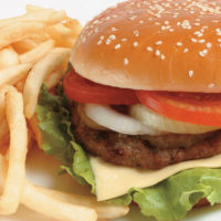 bigstockphoto_french_fries_and_a_hamburger_2286854